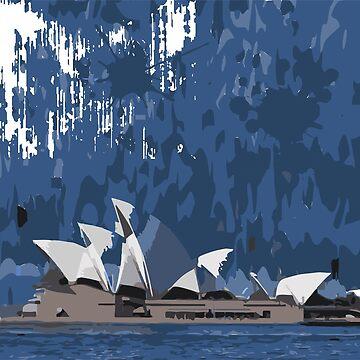 Sydney Opera House by aloudercharm
