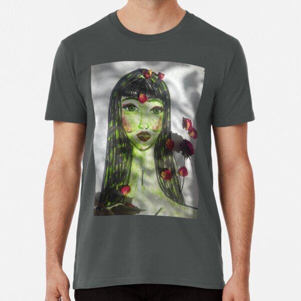 A Beautiful Green-skinned  Girl  Premium T-Shirt