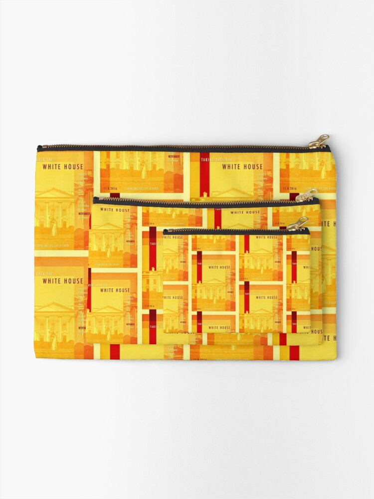 Alternate view of Taking Back The White House Zipper Pouch