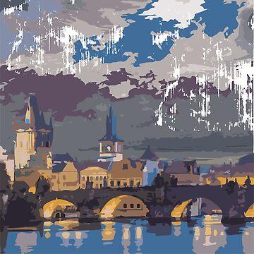Charles Bridge, Prague by aloudercharm