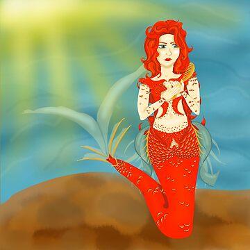 Asrai the Mermaid by KHRArts