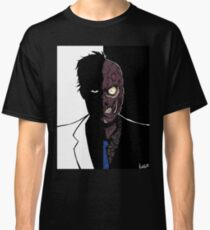 Two Face - Duality Classic T-Shirt