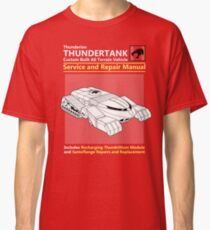 Thundertank Service and Repair Manual Classic T-Shirt