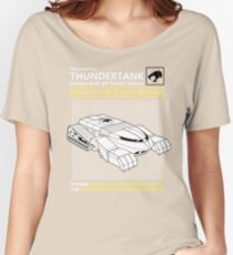 Thundertank Service and Repair Manual Women's Relaxed Fit T-Shirt