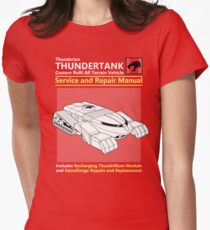 Thundertank Service and Repair Manual Women's Fitted T-Shirt