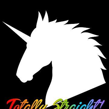 Totally Straight Unicorn by SheriffBear