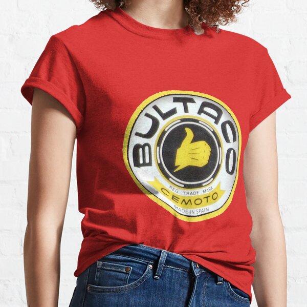 Motocross de la vendimia Camiseta clásica