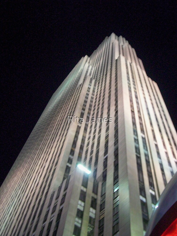 Empire State Building by Rita James