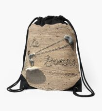 Kiteboarding! Drawstring Bag