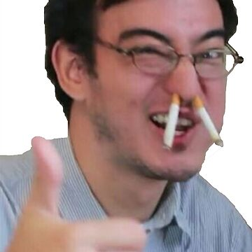 Filthy Frank Thumbs Up Ciggarette by PenstareOutlet