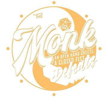 MONK D&D Class by carlhuber