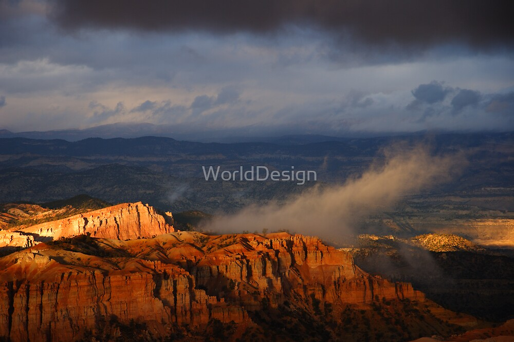 Bryce Canyon Storm by WorldDesign