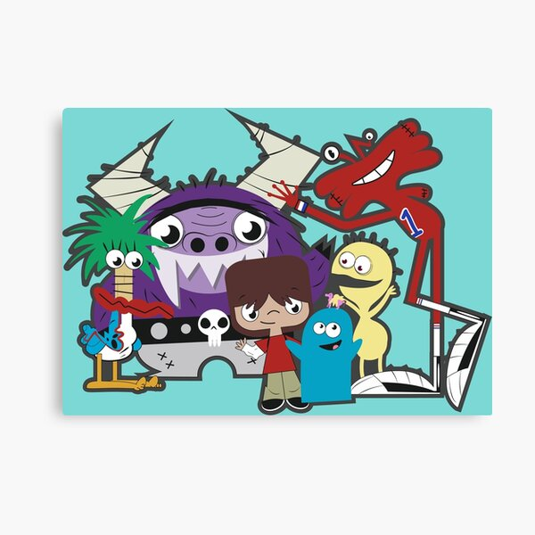 Foster's Home for Imaginary Friends Canvas Print