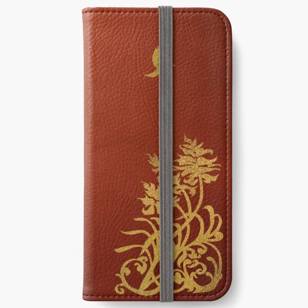 Lovers' Notebook iPhone Wallet