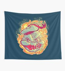 ROASTED MARSHMALLOW MAN Wall Tapestry