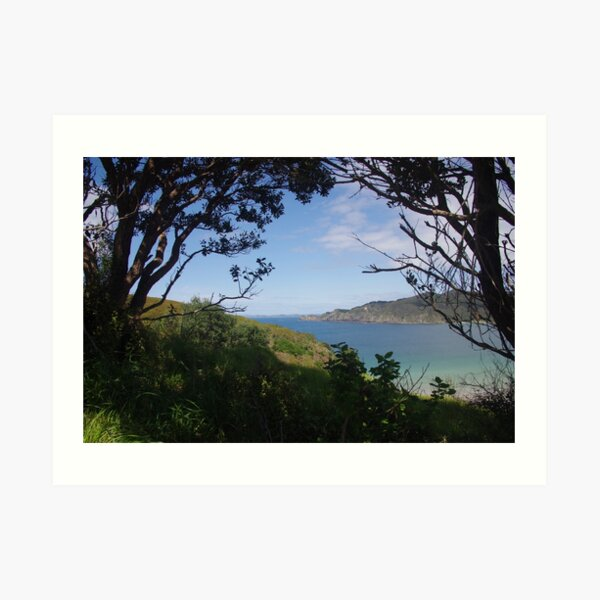 Matauri Bay, New Zealand Art Print
