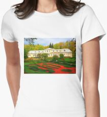 """Absolute Beauty"", Photo / Digital Painting Women's Fitted T-Shirt"