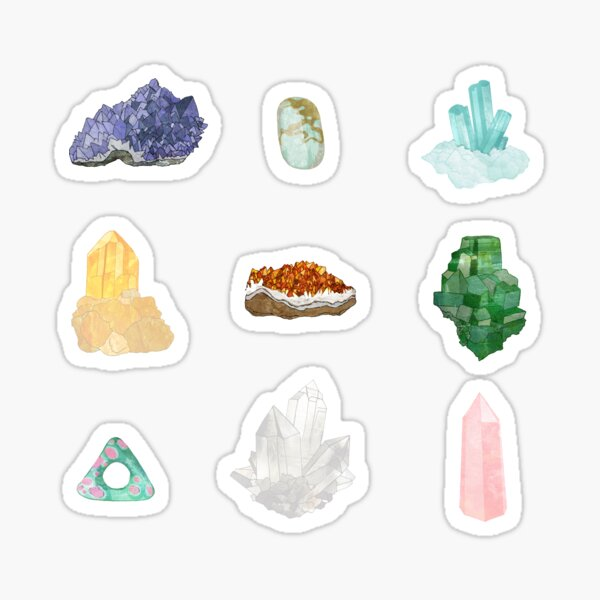 Gemstones Sticker
