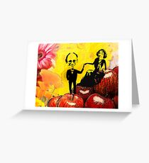 Deb and Bill Greeting Card
