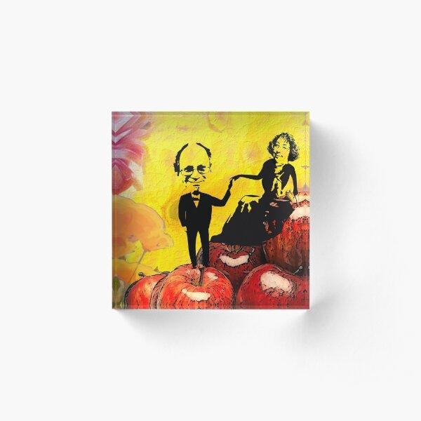 Deb and Bill Acrylic Block