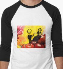 Deb and Bill Baseball ¾ Sleeve T-Shirt