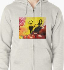 Deb and Bill Zipped Hoodie