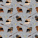 dachshund witch wizard magic wiener dog gifts by PetFriendly