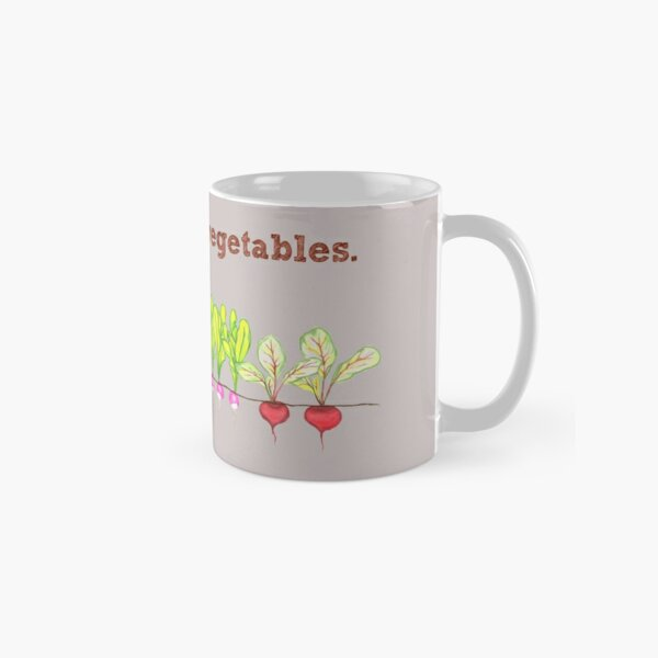 I Dig These Vegetables Classic Mug