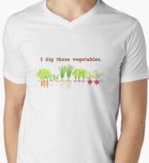 I Dig These Vegetables Men's V-Neck T-Shirt