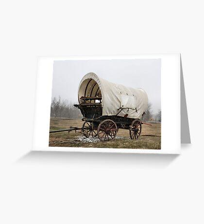 An'  Wheres Cookie? The Chuck Wagon   Greeting Card