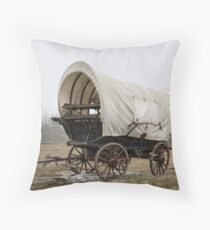 An'  Wheres Cookie? The Chuck Wagon   Throw Pillow