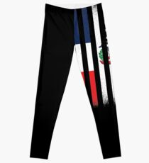 Dominican Republic American gifts Leggings