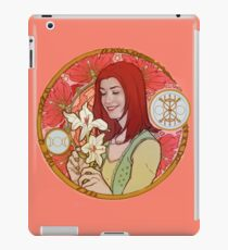 witches in love-willow iPad Case/Skin