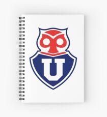 U. de Chile Chilean Soccer Team Spiral Notebook