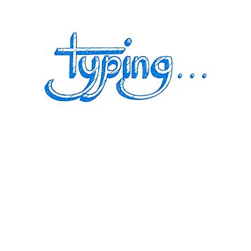 Typing Tee by angelmc