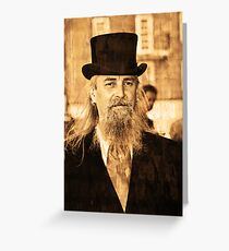 wild bill Greeting Card