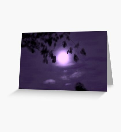 Moonglow Greeting Card