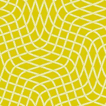 Yellow abstract rope pattern by AnastasiiaM