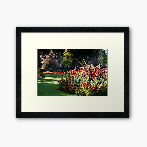Lower Gardens, Bournemouth 1 Framed Art Print