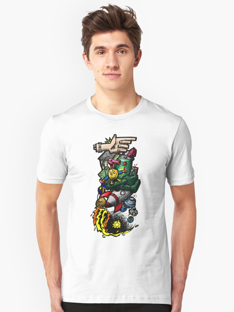 Sketch Crazy Unisex T-Shirt Front