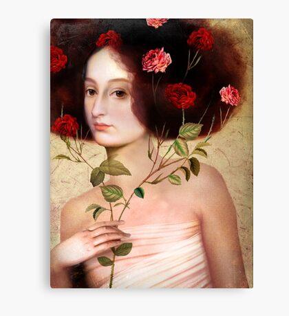 Der Blumenstrauss Canvas Print