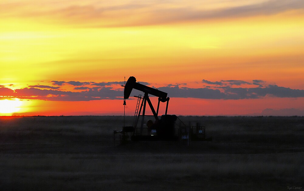 Pumpjack Sunset by Creative Captures