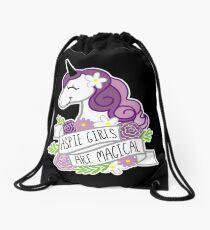 Aspie Girls are Magical Drawstring Bag