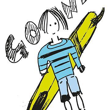 Gone Surfing by kokinoarhithi