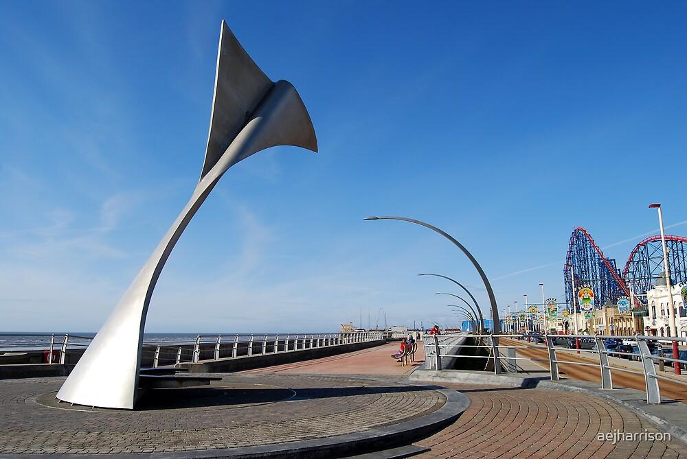 South Beach, Blackpool by aejharrison