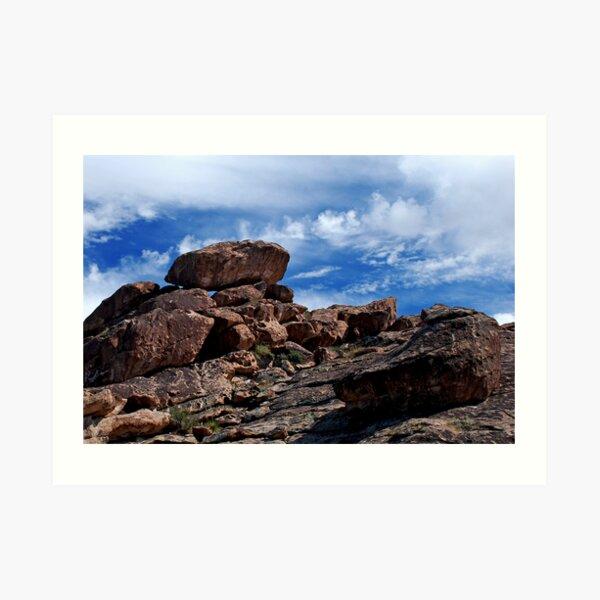 I Dream Of Boulders Art Print