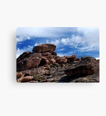 I Dream Of Boulders Canvas Print