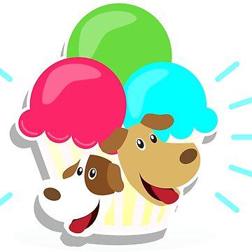 Ice cream by Zzart