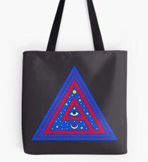 Triangle Eye Tote Bag