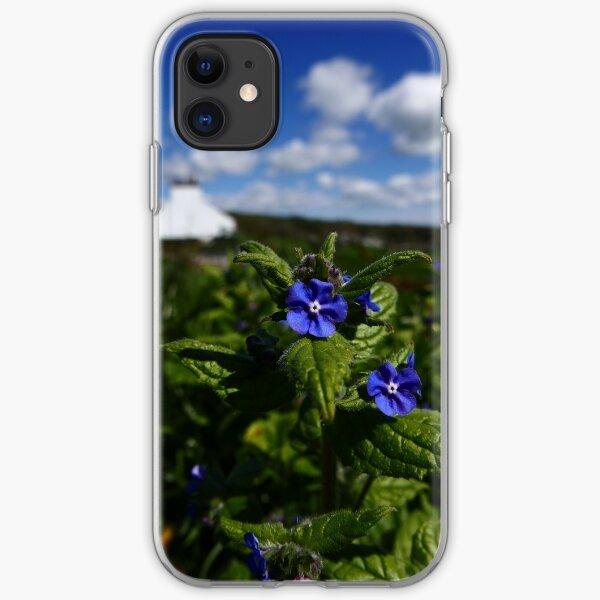 Green Alkanet (Pentaglottis sempervirens) iPhone Soft Case